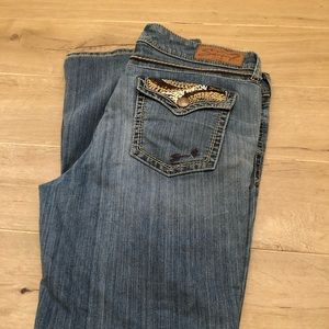 7 For All Man Kind Jeans Size 14 Bootcut
